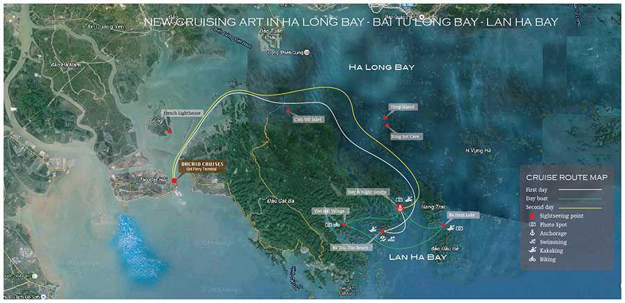 Azalea Cruise 2 Days 1 Night Halong Bay Amp Lan Ha Bay