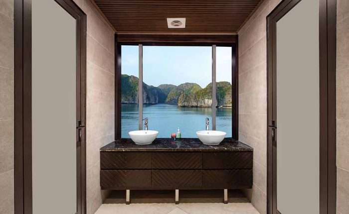 Jade Sails Halong bathroom