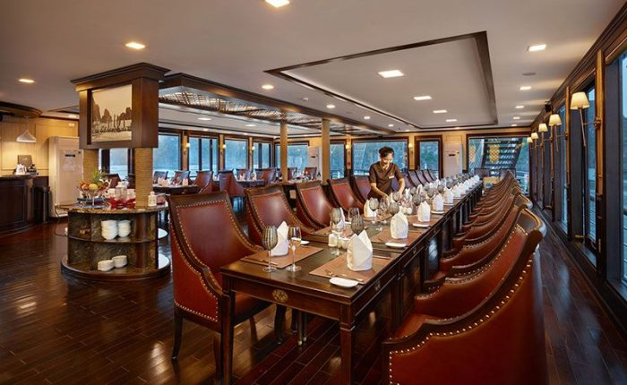 restaurant orchid cruise halong bay