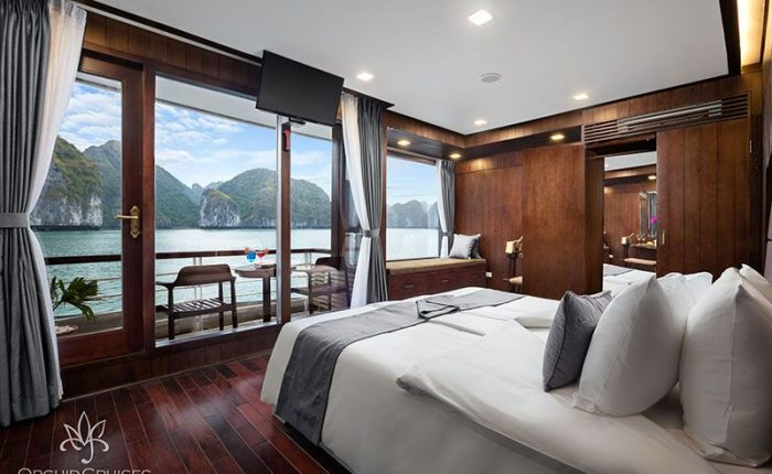 suite double orchid cruise halong bay