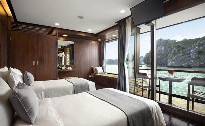 suite twin orchid cruise halong bay