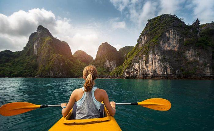 scarlet pearl cruises kayaking